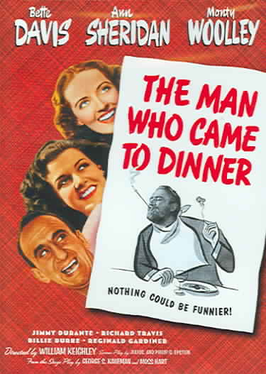 MAN WHO CAME TO DINNER BY DAVIS,BETTE (DVD)